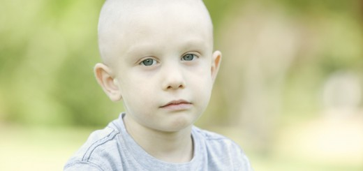 Serious Chemo Child Horizontal